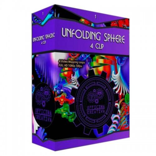 Ufolding Sphere Pack - VJLoop