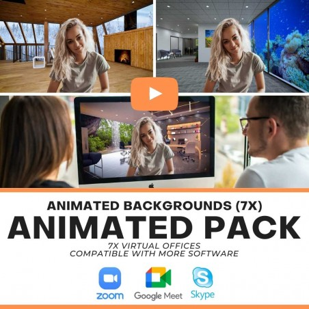 ANIMATED Pack - Zoom Background