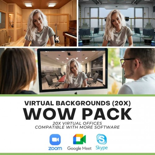 WOW Pack - Zoom Backgrounds