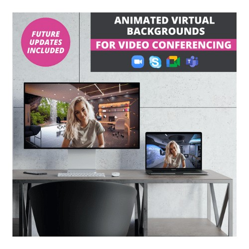 virtual backgrounds for video conferencing - zoom, google meet, microsoft teams, skype, etc.